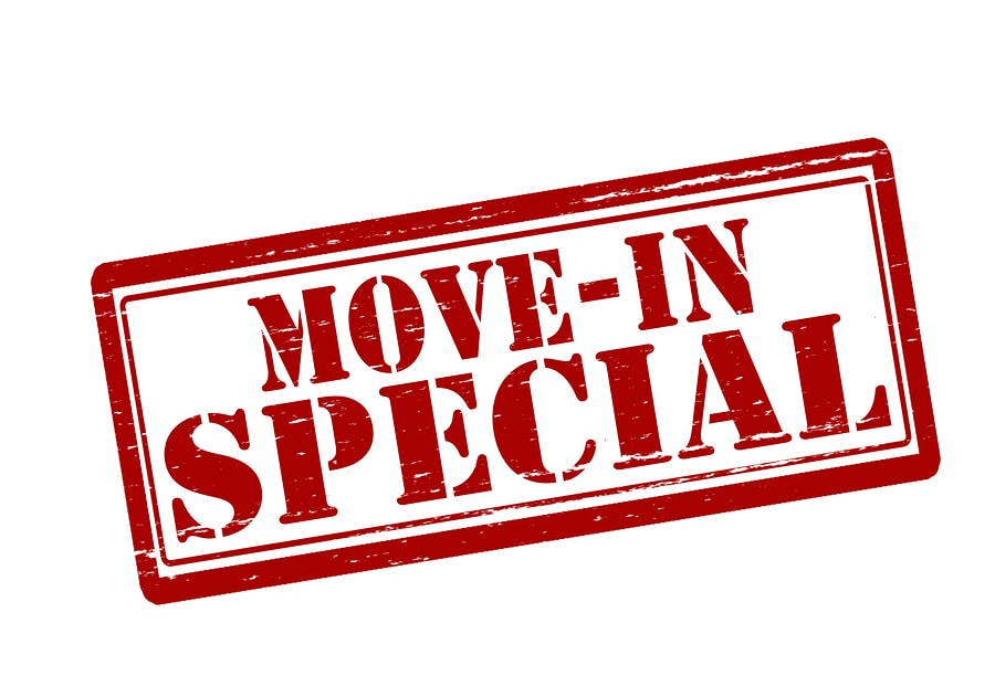 Image result for move in specials